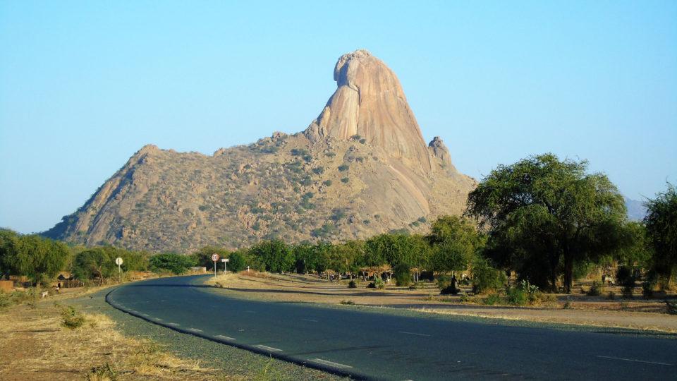 Une Vue du mont Aptouyour. Il se trouve dans la province du Guéra. Crédits photo: Yacoub