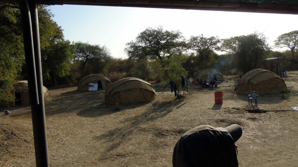 Un ensemble des cases du Campement Dari. Crédits photo: Yacoub