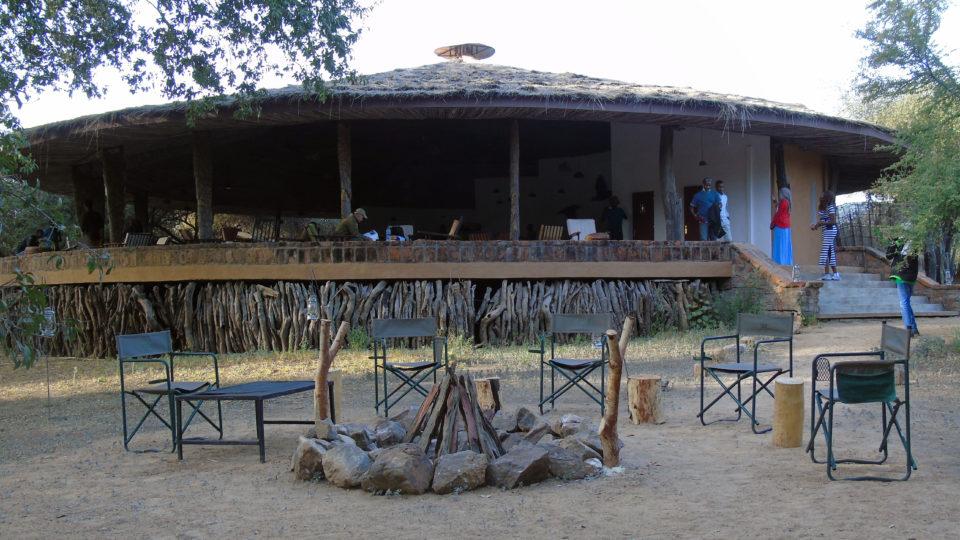 Restaurant de l'hôtel Tinga du Parc National de Zakouma. Crédits photo: Yacoub